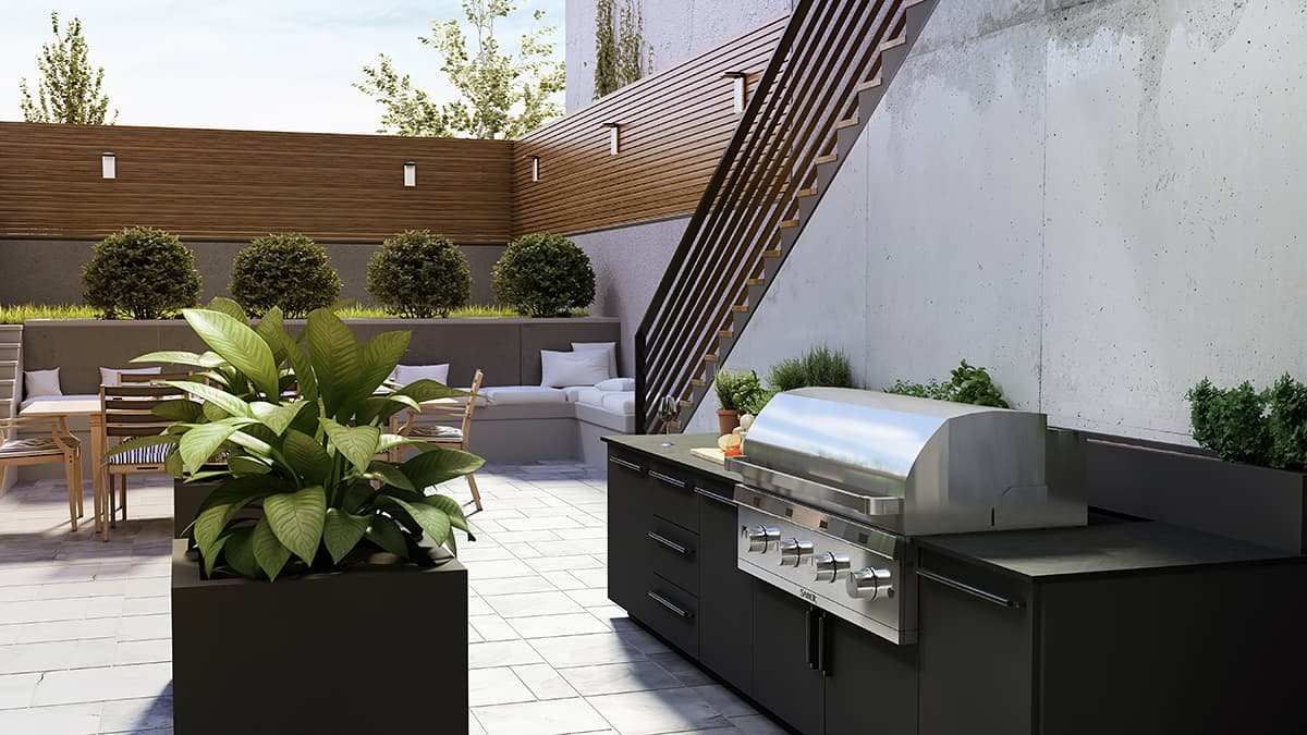 outdoor kitchen trends toronto