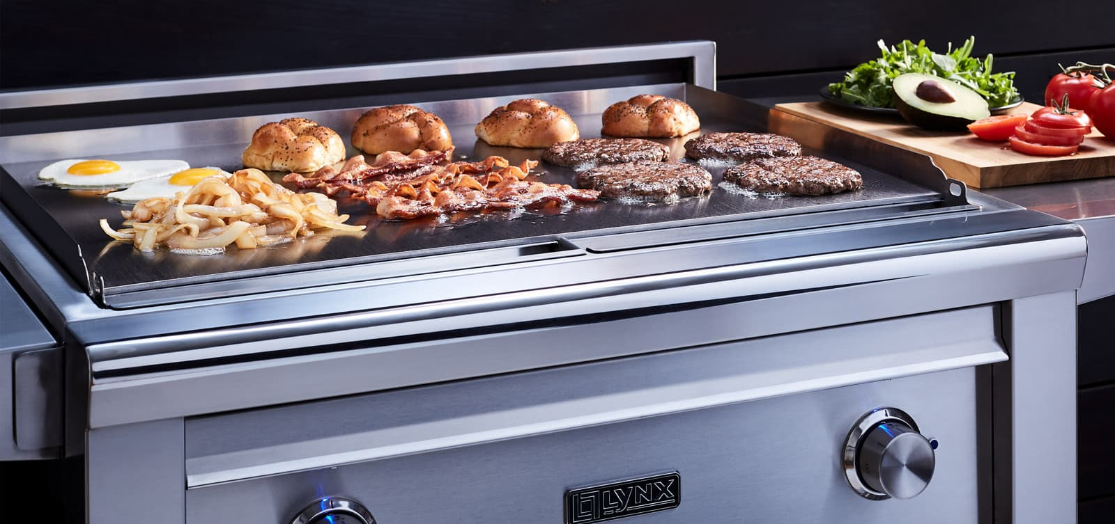 flat-top grill | outdoor kitchen appliances